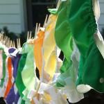Οικολογική μπουγάδα για τις υφασμάτινες πάνες