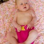 Το μωρά μας είναι χαριτωμένα με υφασμάτινες πάνες!