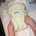 Εφαρμόζοντας σωστά μια υφασμάτινη πάνα birth-to-potty